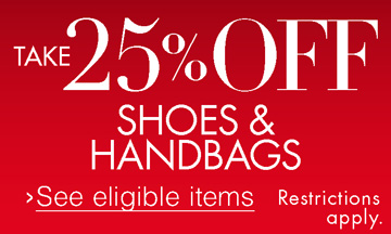 Take 25% Off Shoes