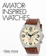 Aviator-Inspired Watches