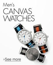 Men's Canvas Watches