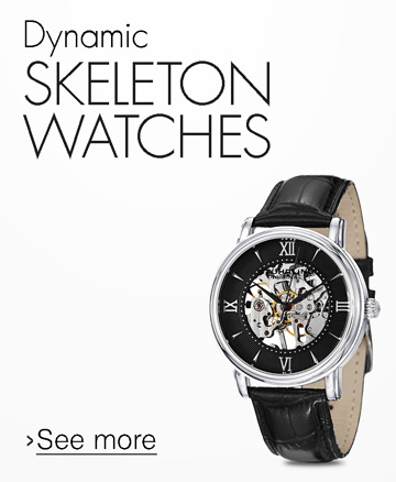 Dynamic Skeleton Watches