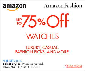 Fashion - Up to 75% Off Watches