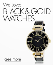 Black + Gold Watches