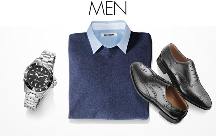 Visit the Men's Shop