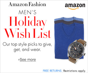 Men's Holiday Wish List