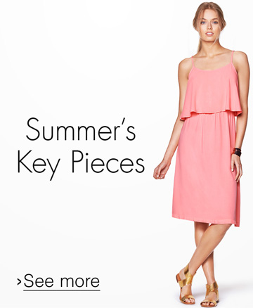 Summer's Key Pieces