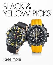 Black & Yellow Picks