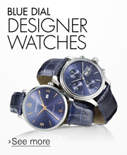 Blue Dial Designer Watches