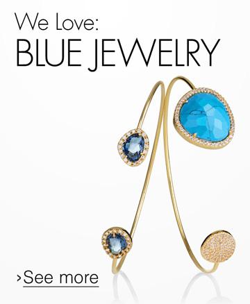 We Love: Blue Jewelry