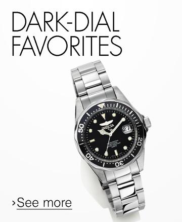Dark-Dial Watches