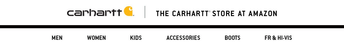 Amazon Carhartt BrandStore
