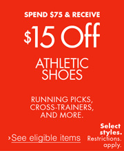 15 Off 75 Athletic Shoes