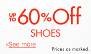 Save $15 on Athletics Shoes