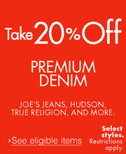 Take 20% Off Jeans