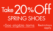 20% Off Spring Styles