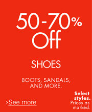 50-70% Off Shoes