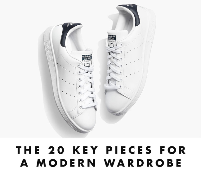 The 20 Key Pieces for a Modern Wardrobe
