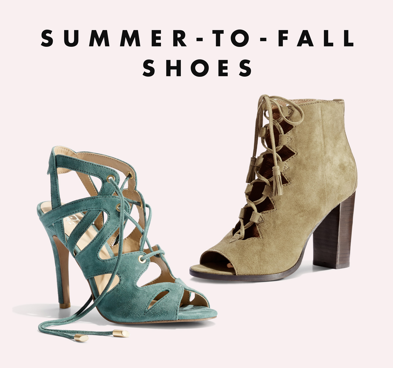 Summer to Fall Shoes