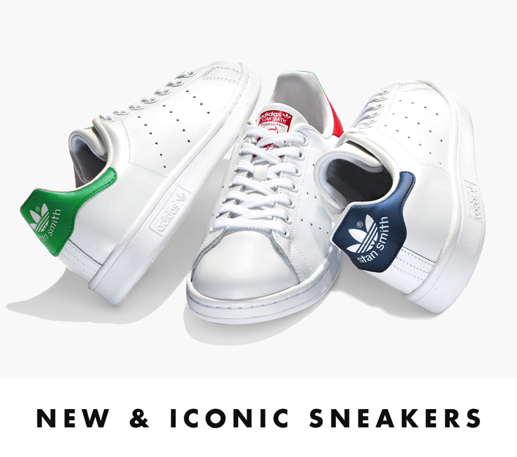 New & Iconic Sneakers