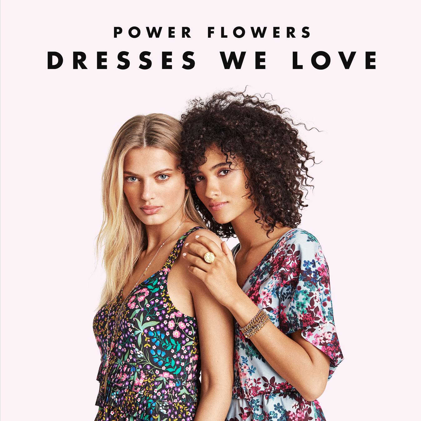 THE WOMEN's SHOP : POWER FLOWERS Dresses We Love