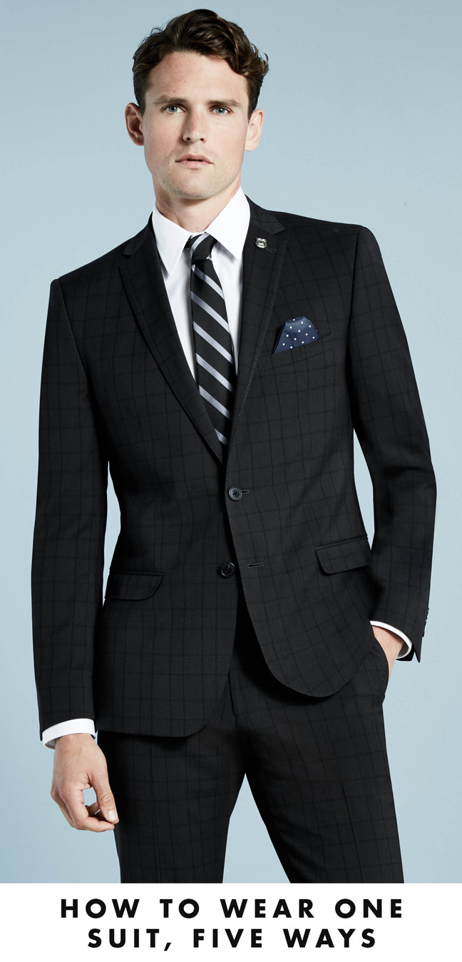 How to Wear one Suit, Five Ways