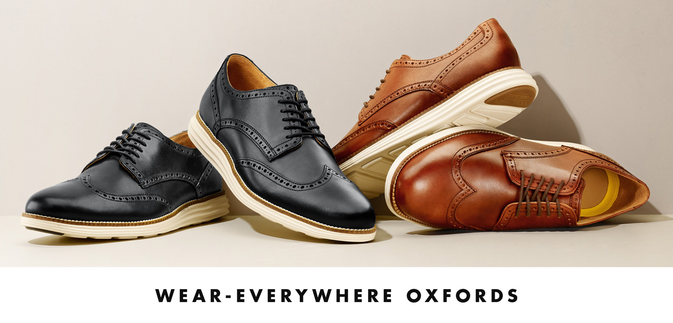 Wear-Everywhere Oxfords