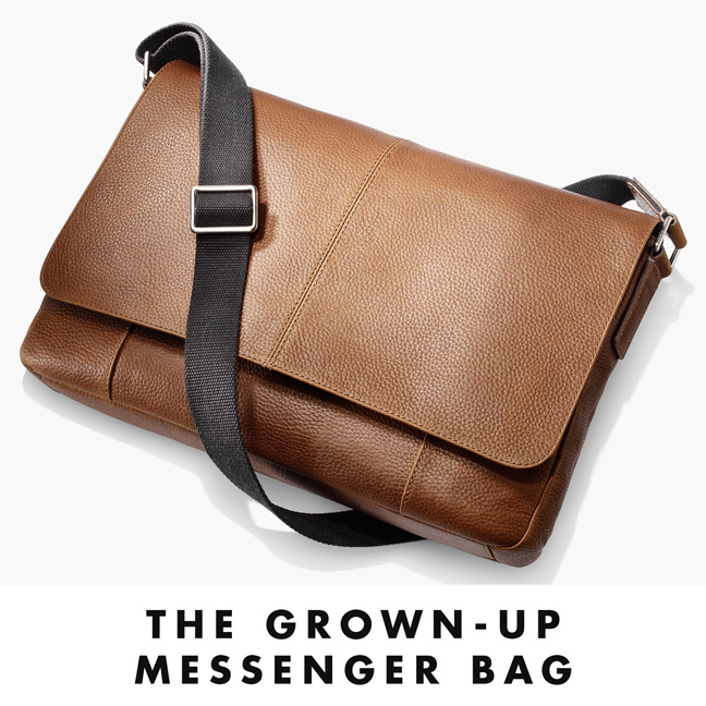 The Grown-Up Messenger Bag