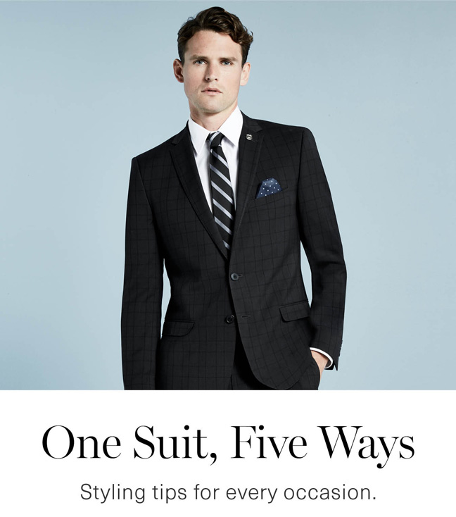 One Suit Five Ways