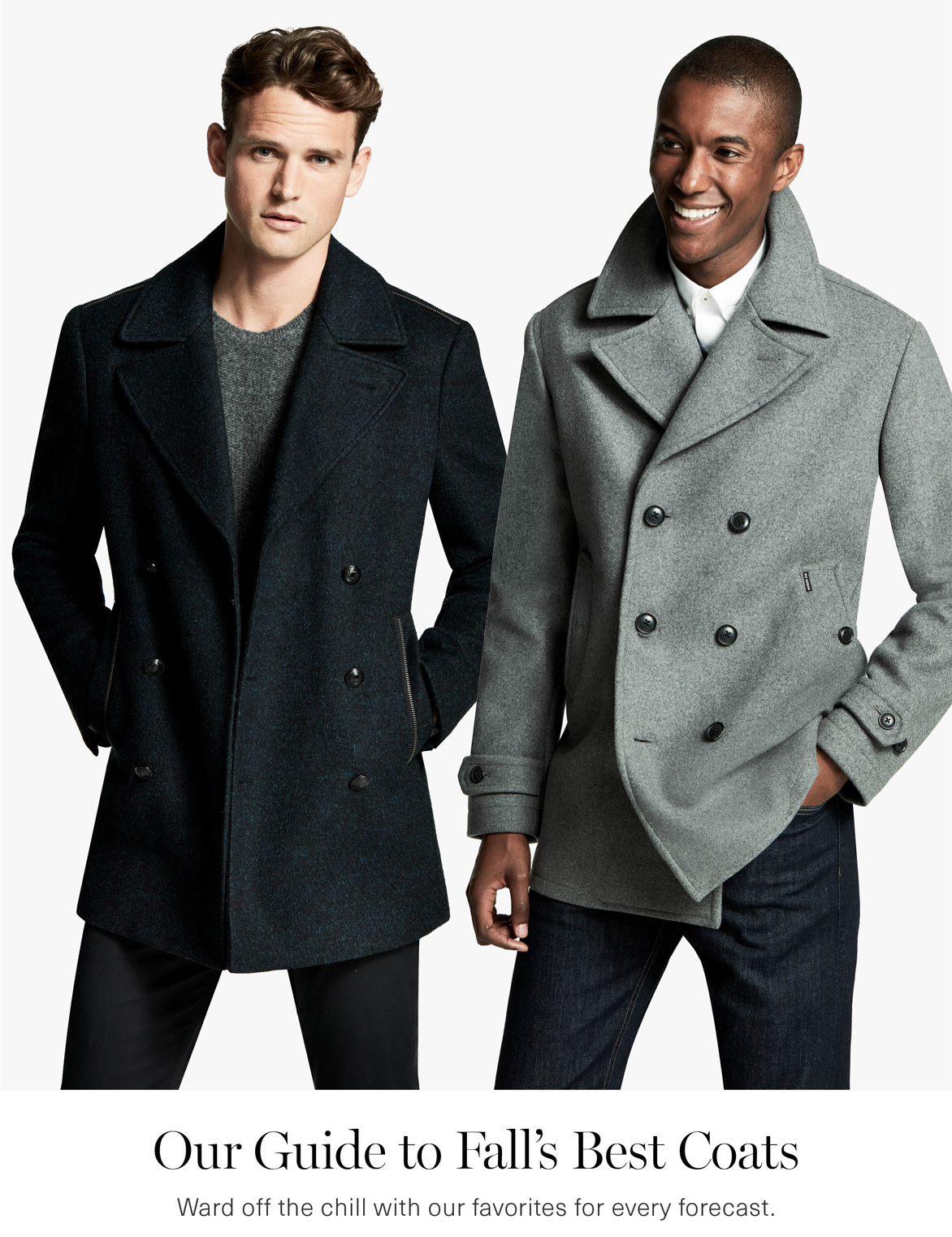 Men's Fall's Best Coats