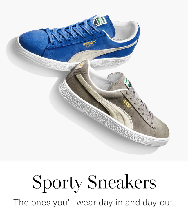 Men's Sporty Sneakers