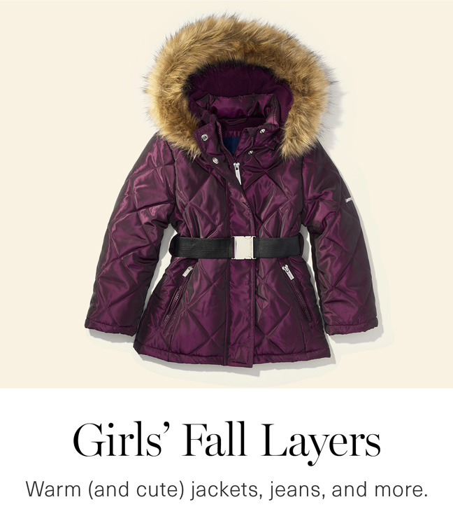 Girls' Fall Layers
