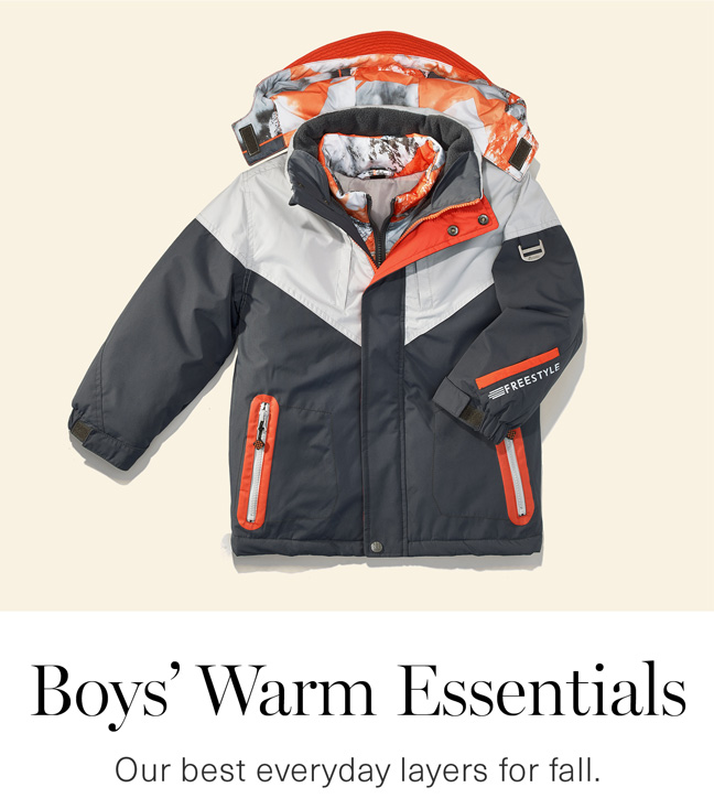 Boys' Warm Essentials