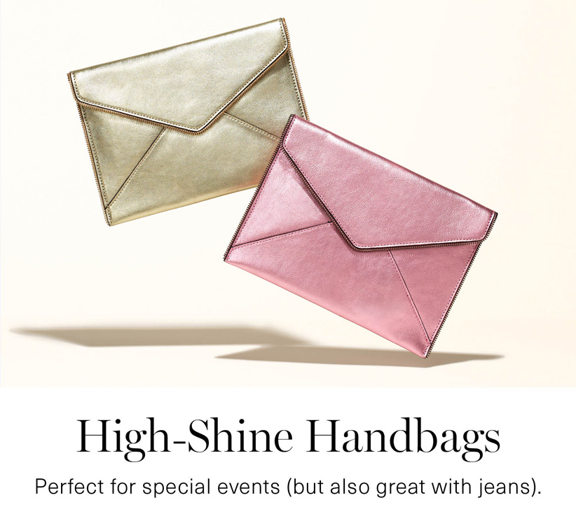 High-Shine Handbags