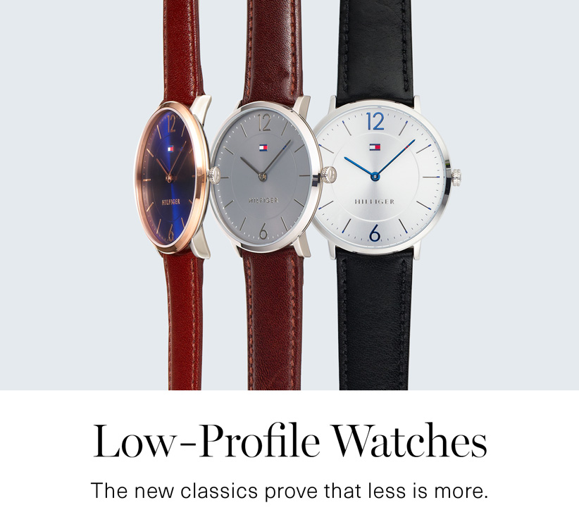 Low-Profile Watches