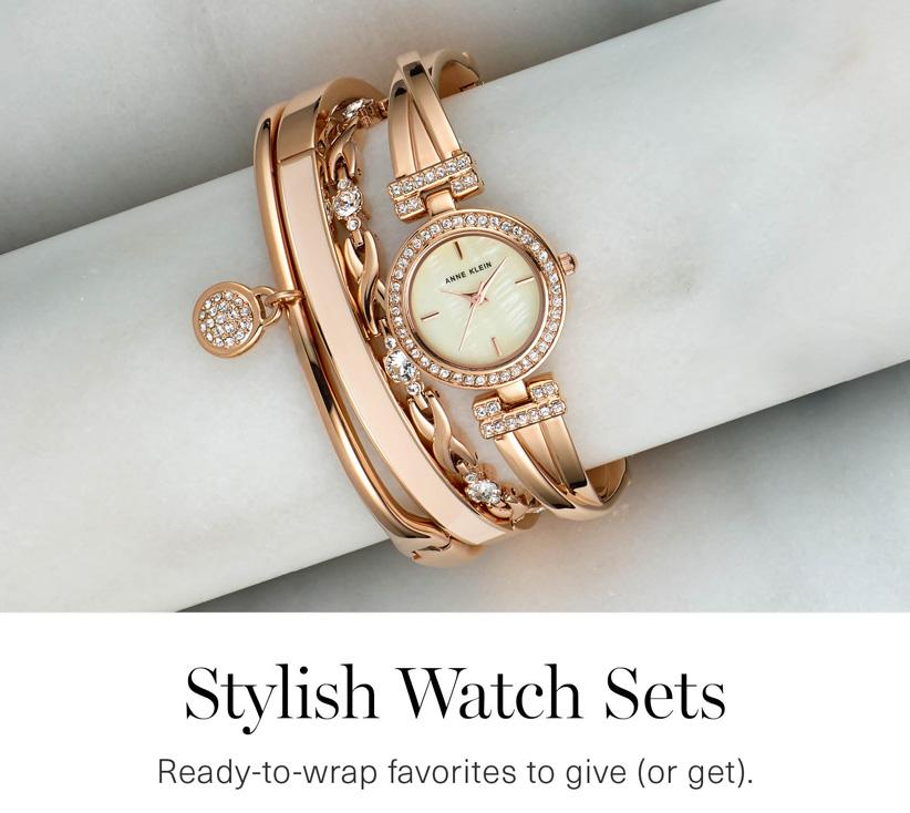 Stylish Watch Sets
