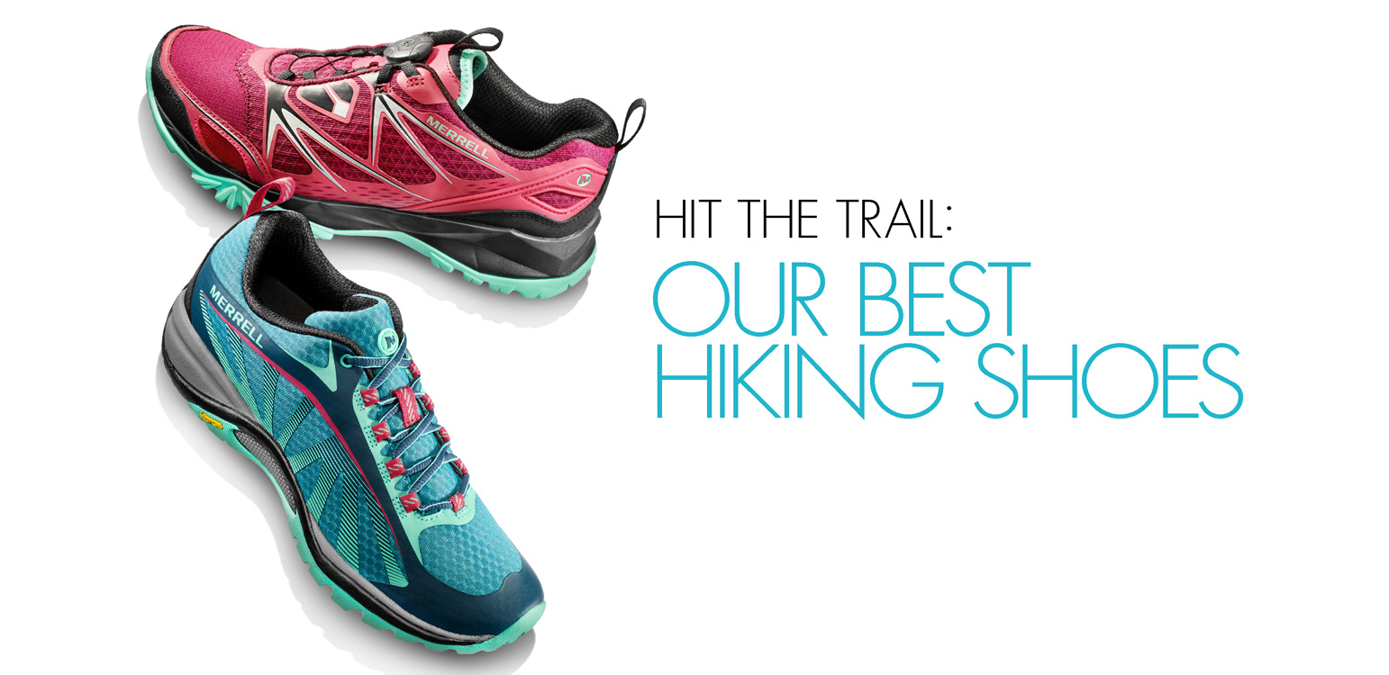 Our best hiking shoes