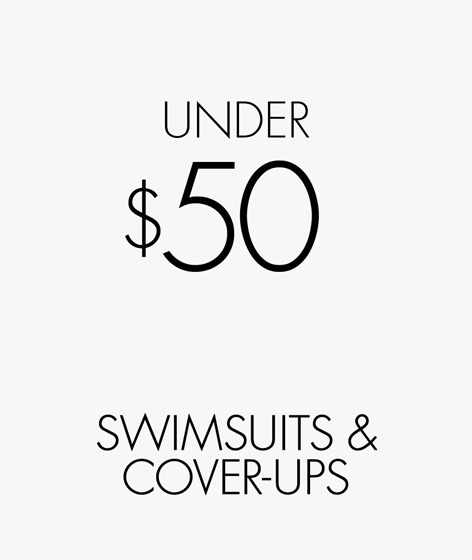 Under $50 Swimsuits & Cover-ups