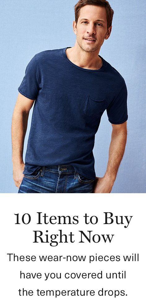 Men's Summer Must-Haves