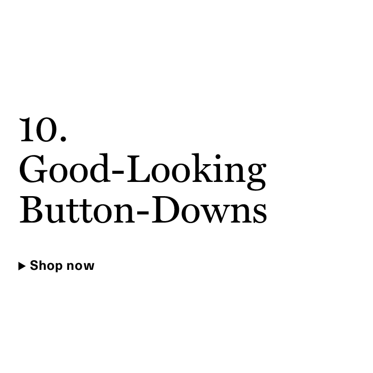 Good-Looking Button-Downs