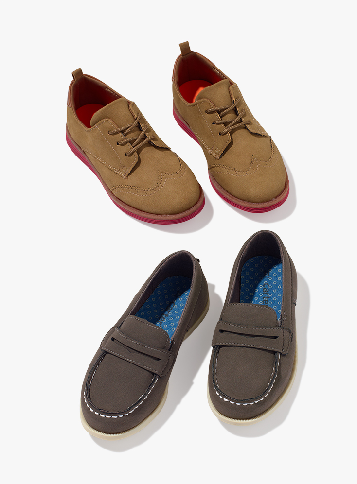 Clean-Cut Oxfords and Loafers