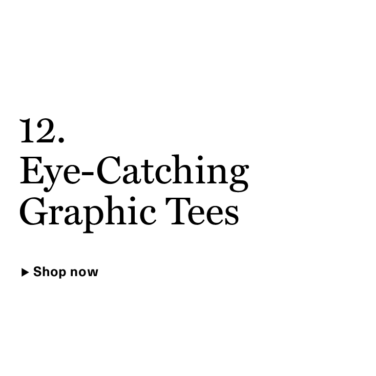 Eye-Catching Graphic Tees