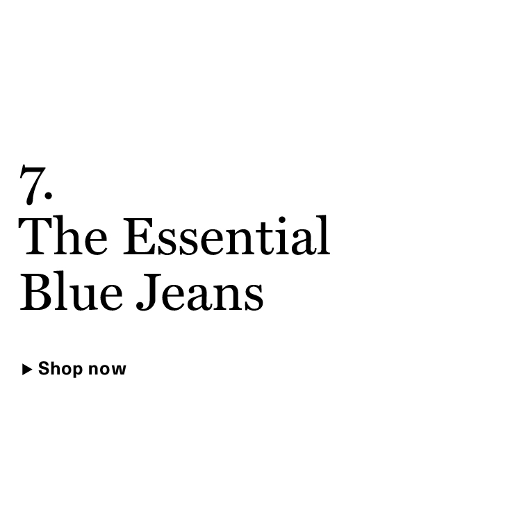 The Essential Blue Jeans