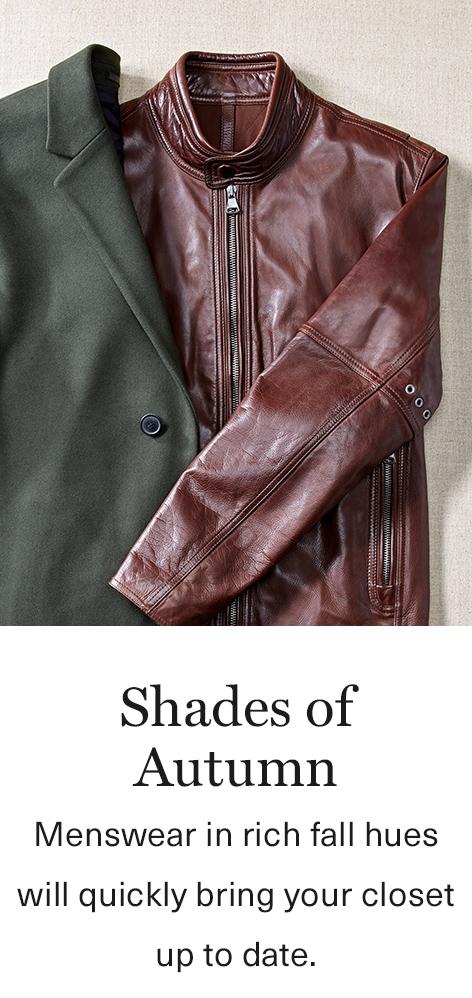 Autumn Shades: Menswear