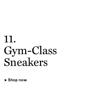 Gym-Class Sneakers