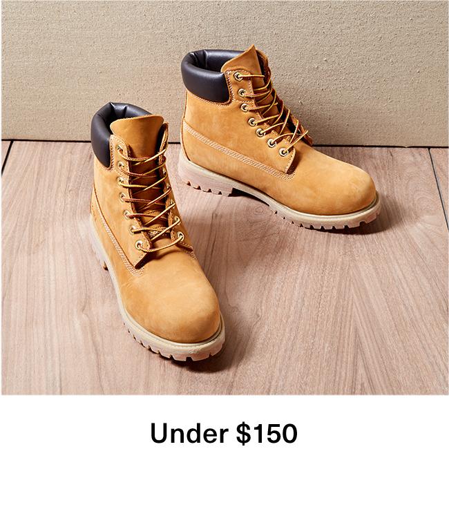 Boots under $150