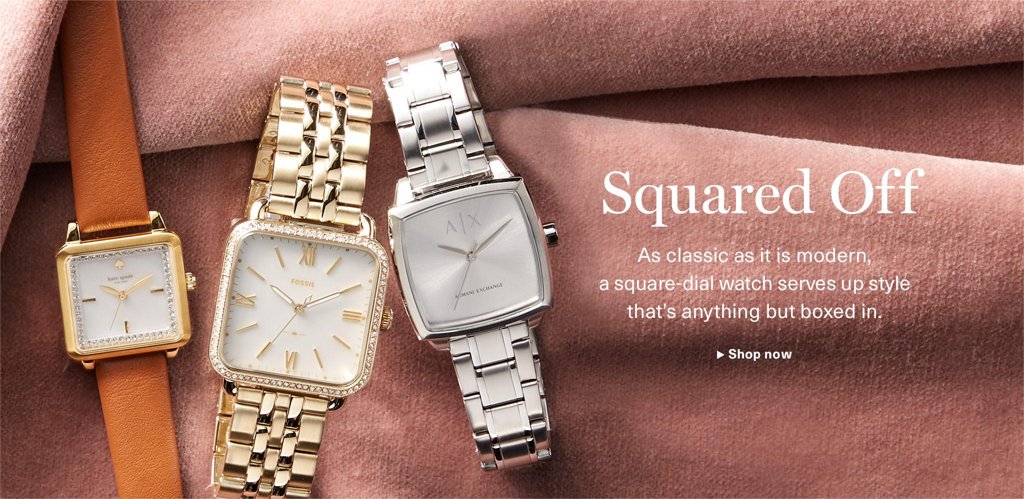 Squared Off: As classic as it is modern, a square-dial watch serves up style that's anything but boxed in.
