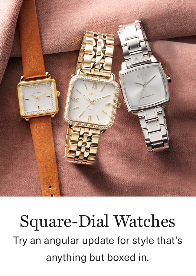 Square Dial Watches
