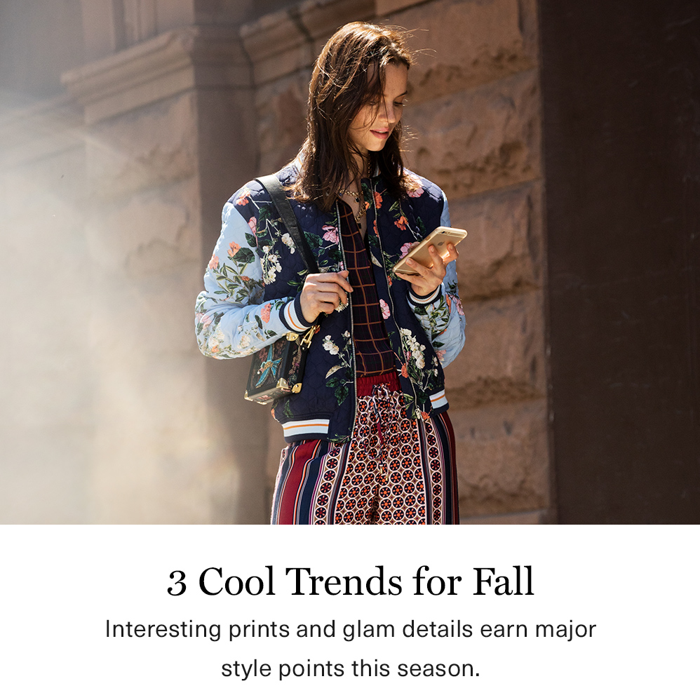 3 Cool Trends for Fall