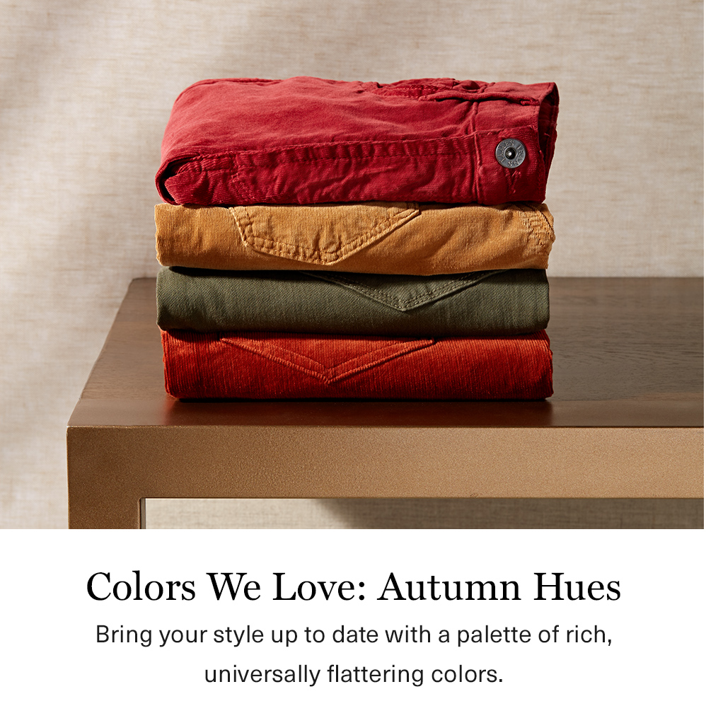 Colors We Love:Autumn Hues
