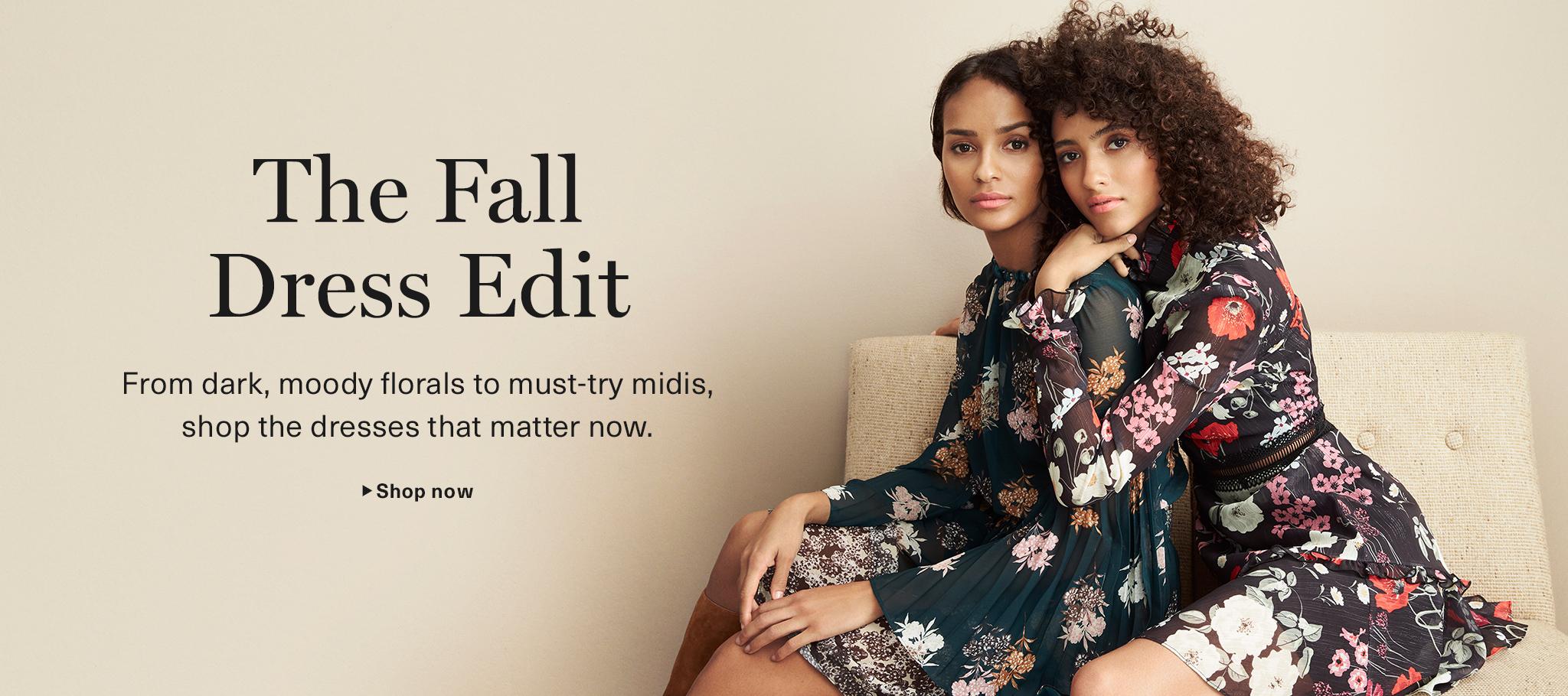 The Fall Dress Edit
