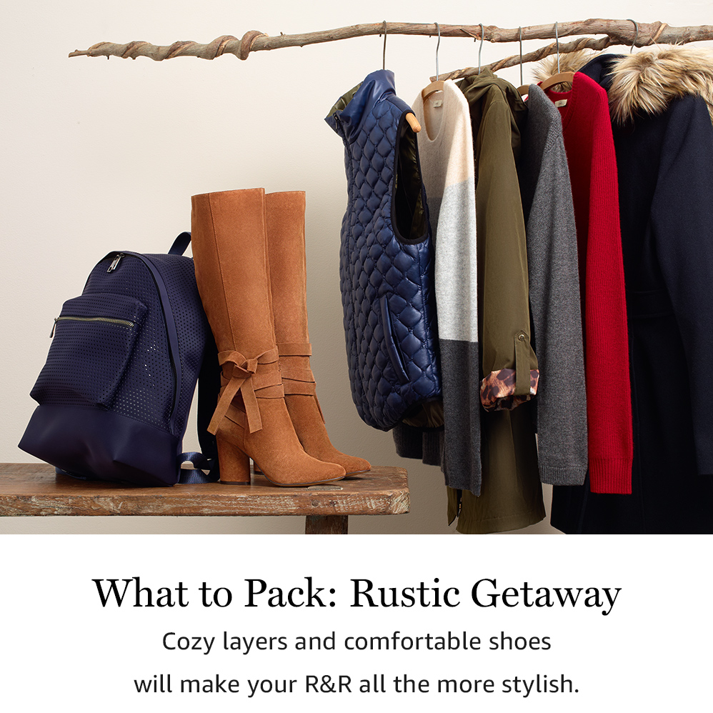 What to Pack: Rustic Getaway